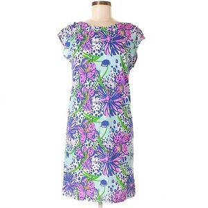 Lilly Pulitzer In the Garden Print Shift Dress